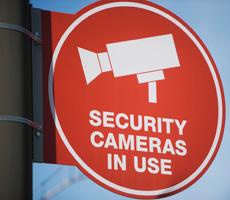 イメージ:防犯カメラ・モニター設置